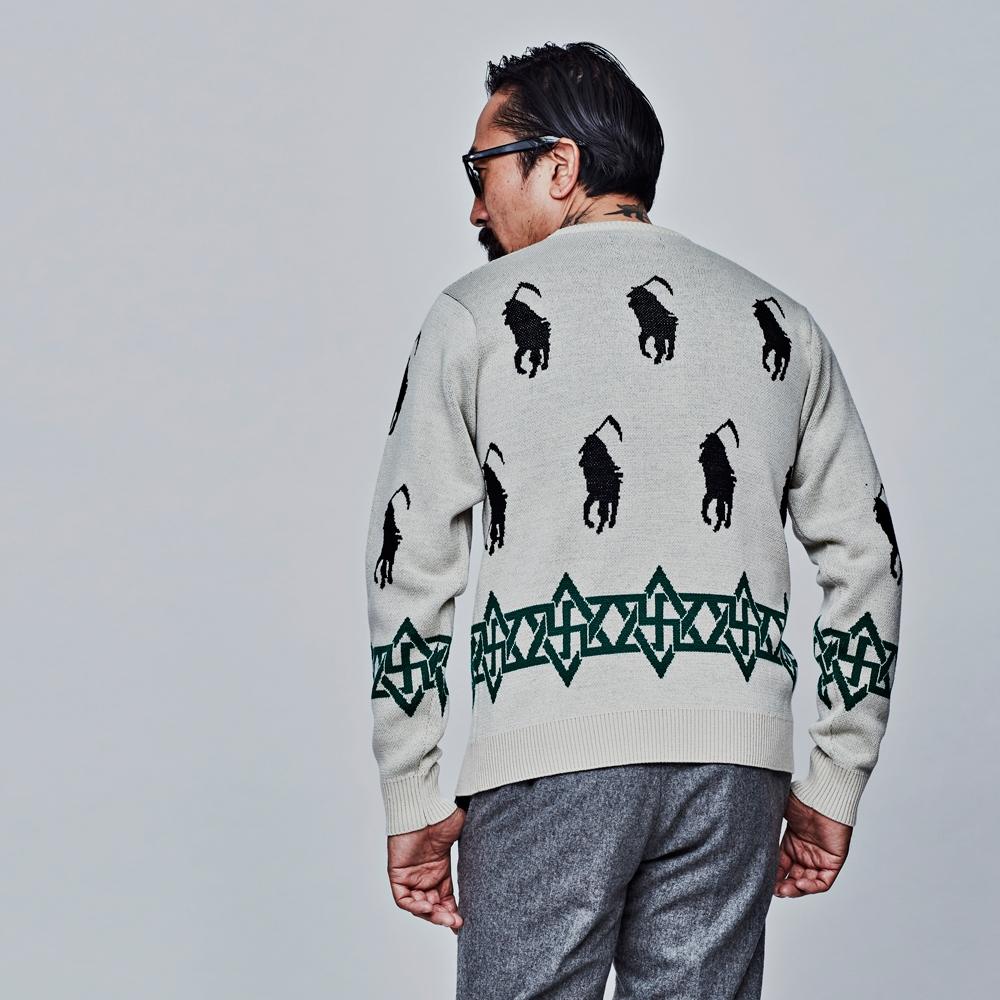 ソフトマシーン ディスオナー クルー ネック セーター