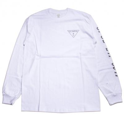 グリンプス アンド シーシー リフレクター ロゴ ロングスリーブ Tシャツ