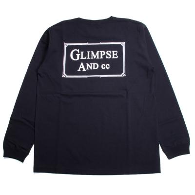 グリンプス アンド シーシー ロゴ ロングスリーブ Tシャツ