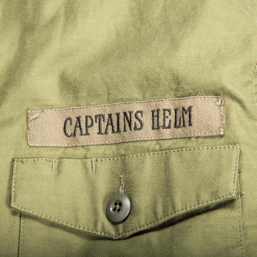 キャプテンズヘルム ボア ファティーグ シャツ ジャケット