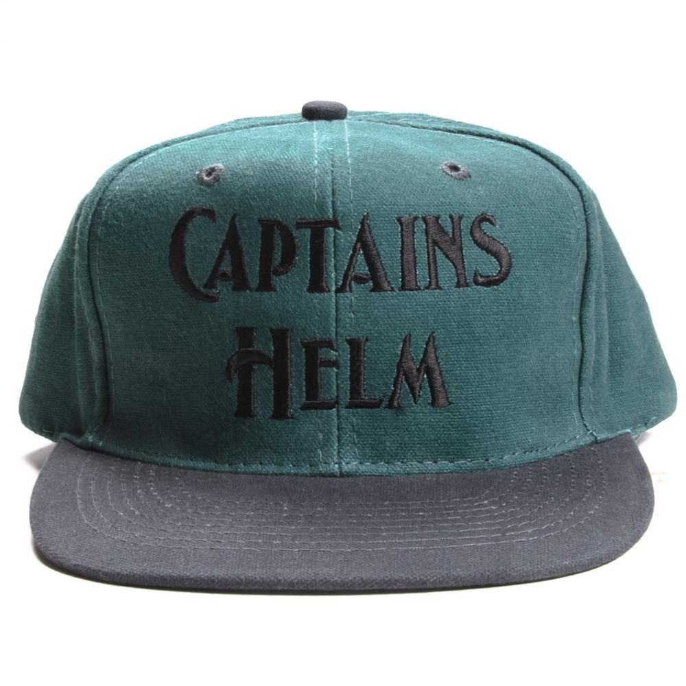 キャプテンズヘルム ロゴ 2トーン ベースボール キャップ