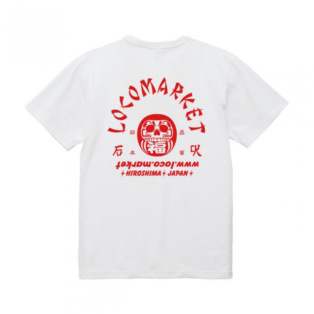 ロコマーケット ロコ ダルマ Tシャツ