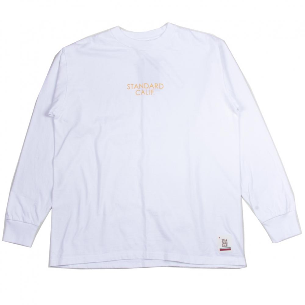スタンダードカリフォルニア ヘビー ウェイト ロングスリーブ tシャツ