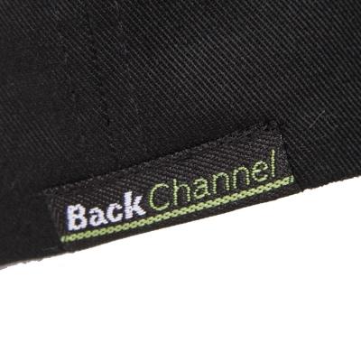 バックチャンネル ラベル ツイル キャップ