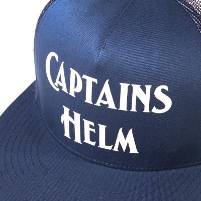 キャプテンズ ヘルム  ロゴ メッシュ キャップ