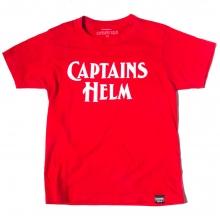 キャプテンズヘルム キッズ ロゴ tシャツ
