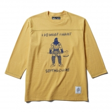 ソフトマシーン ネクスト フットボール tシャツ
