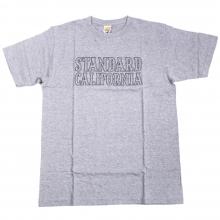 スタンダードカリフォルニア ベーシック ロゴ tシャツ