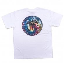 ツーフェイス オリジナル タイダイ ロゴ tシャツ