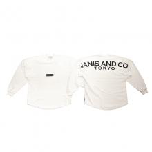 ジャニスアンドカンパニー トウキョウ ビッグ ロングスリーブ Tシャツ