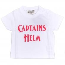 キャプテンズヘルム ロゴ tシャツ キッズ