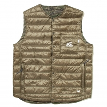 Back Channel ☓ nanga reversible  down vest