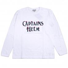 キャプテンズヘルム ローズロゴ Tシャツ