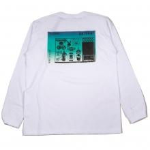 ツーフェイスオリジナル タトゥー グラデーション ロングスリーブ tシャツ
