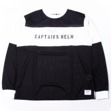 キャプテンズヘルム 2トーン メッシュ ロングスリーヴ tシャツ