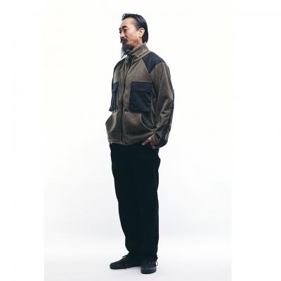 ソフトマシーン フェート フリース ジャケット