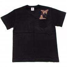ソフトマシーン  ジオメトリック バタフライ  ショートスリーブ tシャツ