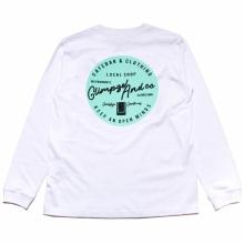 ツーフェイスオリジナル カフェロゴ ロングスリーブ tシャツ