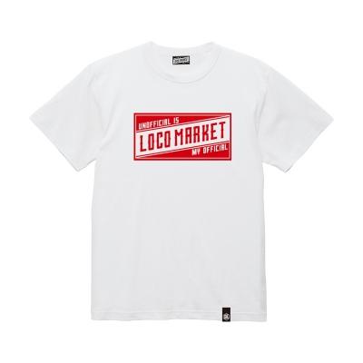 ロコマーケット ロコマーケット ビッグタグ ショートスリーブ Tシャツ
