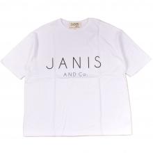 ジャニスアンドカンパニー ワイド ロゴ tシャツ
