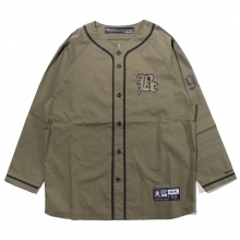 Back Channel, coolmax baseball l/s shirt