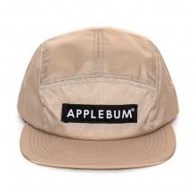 アップルバム  ロゴ キャンパー キャップ