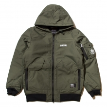 Back Channel, nylon 3layer hooded jacket