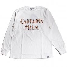 キャプテンズヘルム レオパード ロゴ ロングスリーブ tシャツ