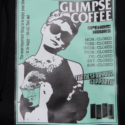 グリンプス オリジナル カフェ プルオーバー フーディー