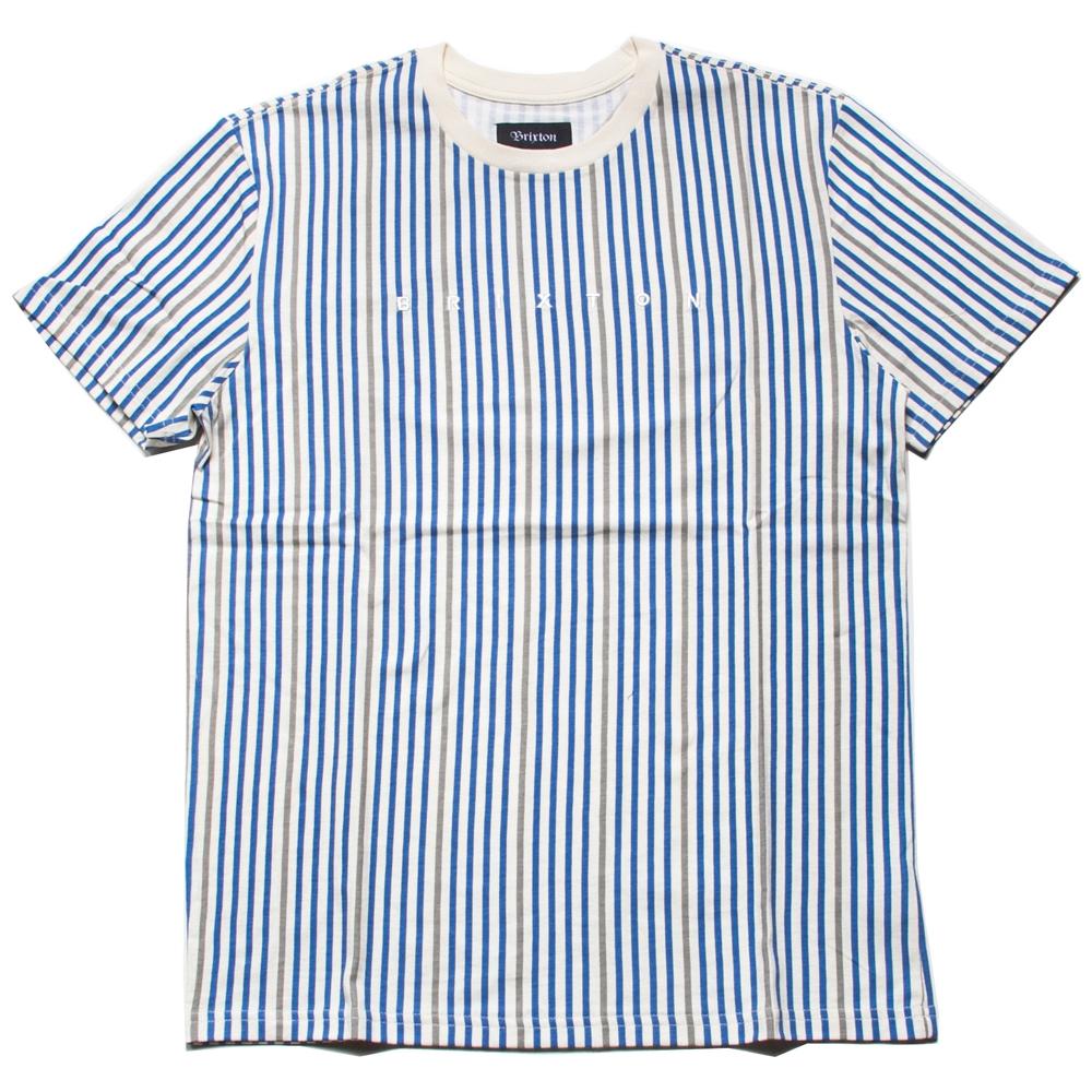 ブリクストン ヒルト エンブロイドレッド ショートスリーブ Tシャツ