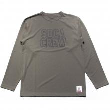 スタンダードカリフォルニア テック ドライ ロゴ ロングスリーブ tシャツ