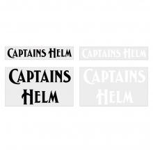 キャプテンズヘルム カッティング ロゴ ステッカー セット