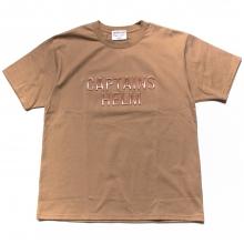 キャプテンズヘルム 3d ロゴ tシャツ