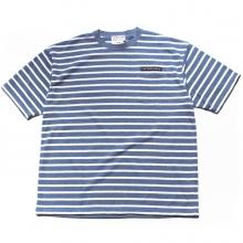 キャプテンズヘルム パイル ボーダー ポケット tシャツ