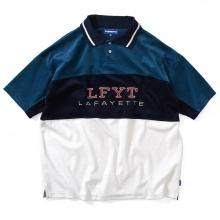 ラファイエット トラディショナル スポーツ ロゴ パイル ポロ シャツ