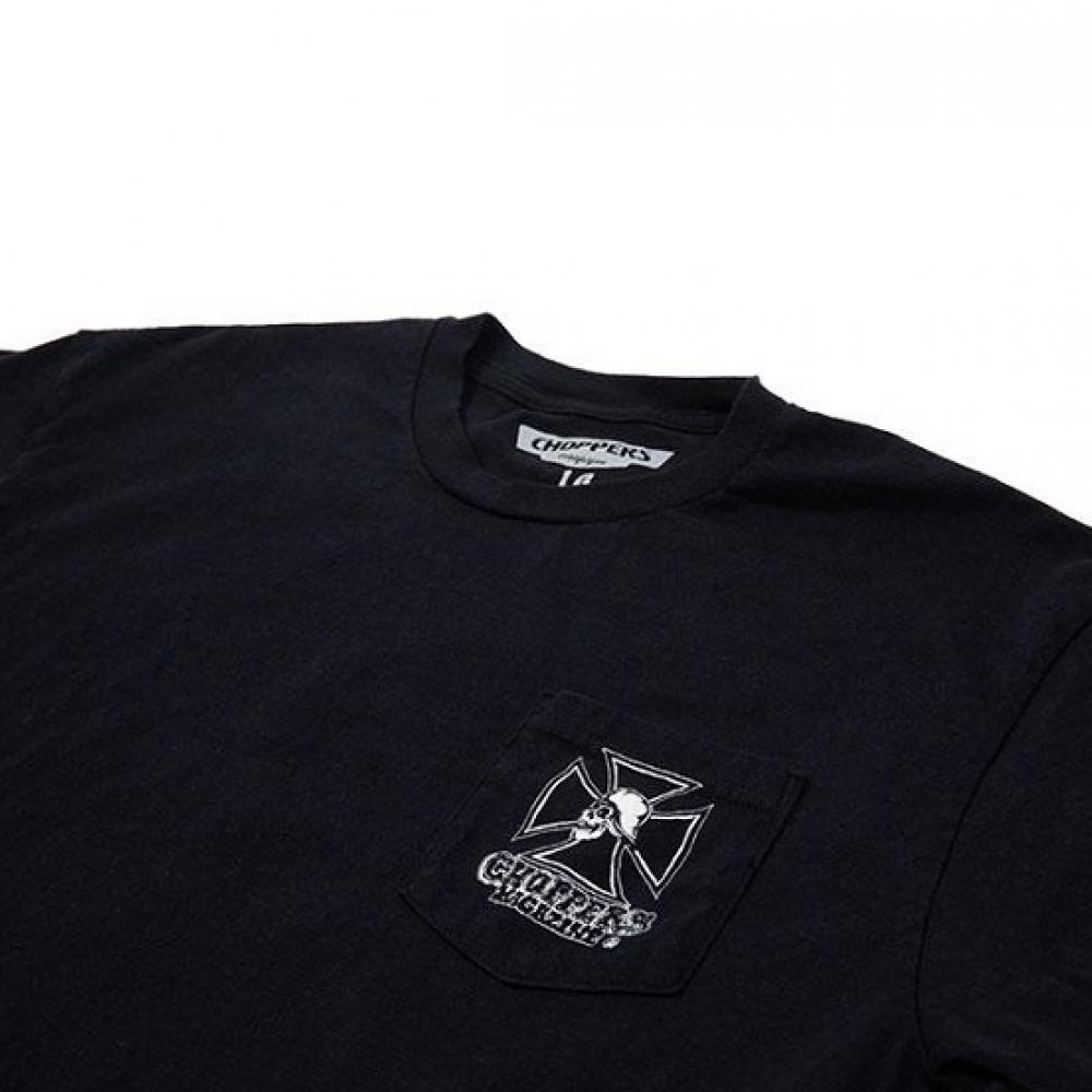 チョッパーマガジン チョッパー スカル Tシャツ