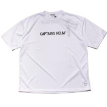 キャプテンズヘルム トレードマーク ロゴ ドライ Tシャツ