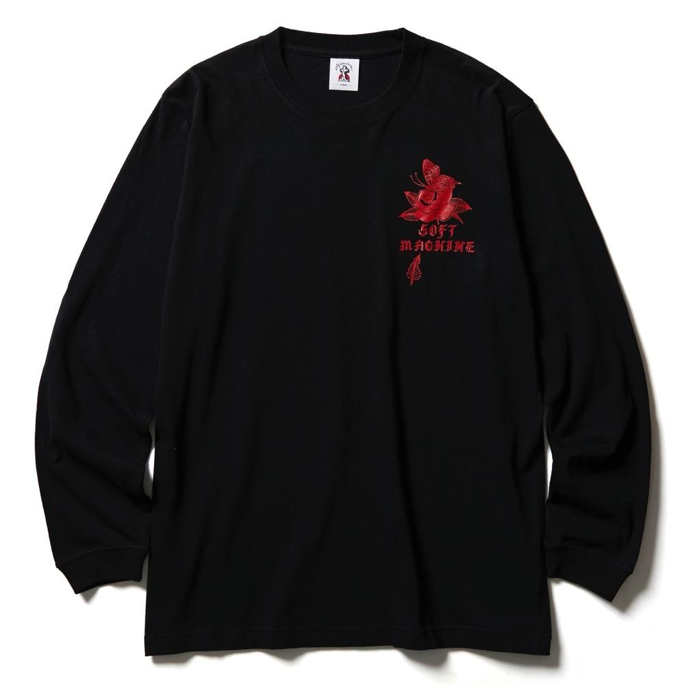 ソフトマシーン シャクール ロングスリーブ  tシャツ