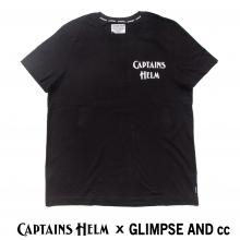 キャプテンズヘルム x グリンプス スペシャルコラボレーション ロゴ tシャツ