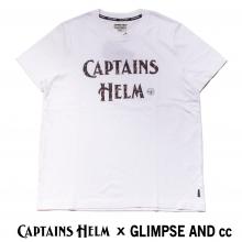 キャプテンズヘルム x グリンプス スペシャルコラボレーション カフェロゴ tシャツ