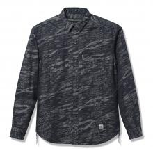 Back Channel, jacquard denim shirt