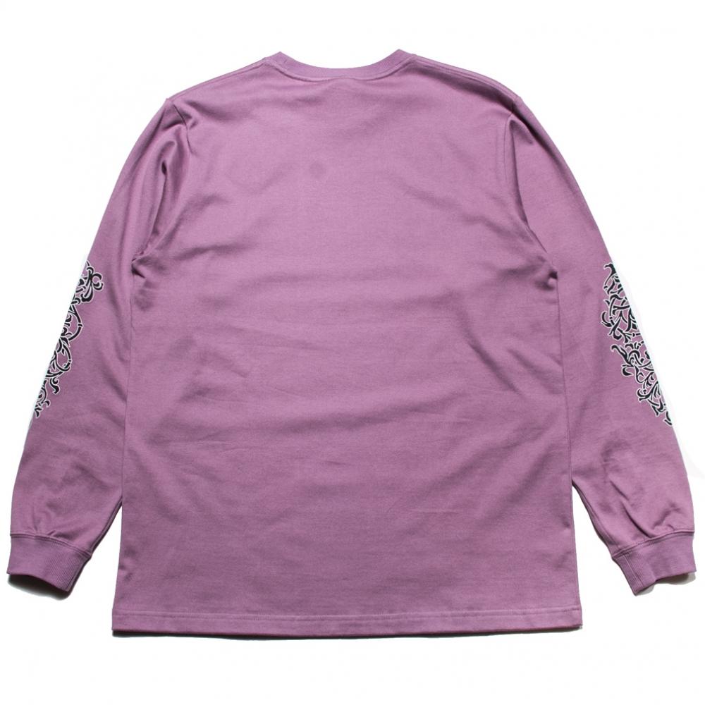 キャリー スリーブ プリント ロングスリーブ tシャツ