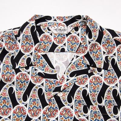 キャリー オールオーバー パターン シャツ