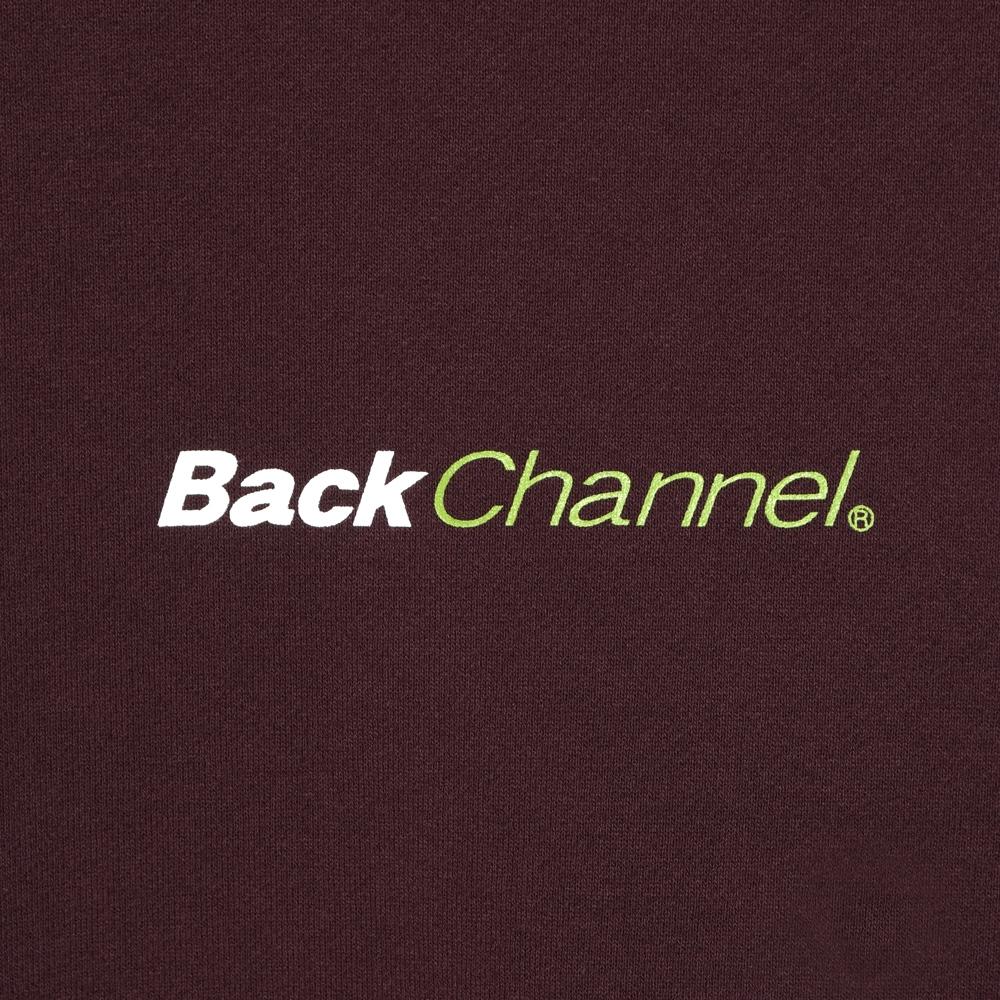 バックチャンネル オフィシャル ロゴ クルー スウェット