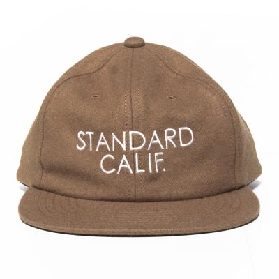 スタンダードカリフォルニア ロゴ ウール キャップ