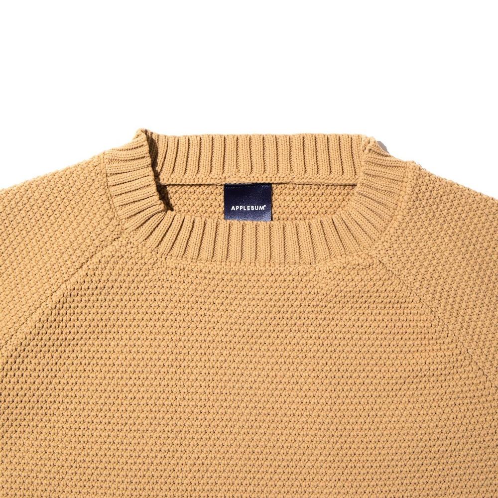 アップルバム スリット ワイド セーター