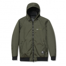 Back Channel, cordura nylon hooded jacket