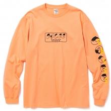キャリー ボックス ロゴ ロングスリーブ  Tシャツ