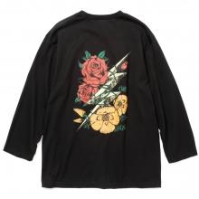 キャリー 8レングス スリーブ サンダーボルト tシャツ