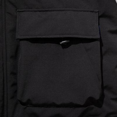 アップルバム インナーコットン フード ジャケット